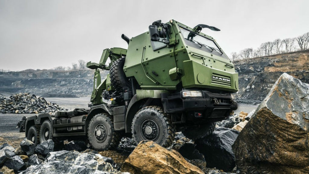 Mack Defense marks completion of truck build for Canadian Armed Forces