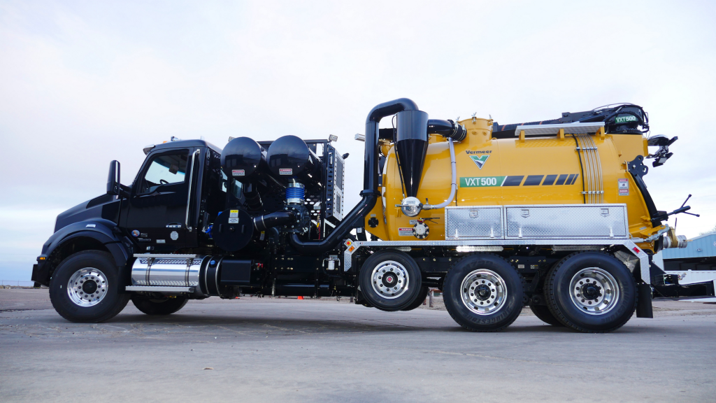 Vermeer introduces line of high-capacity, truck-mounted vacuum excavators