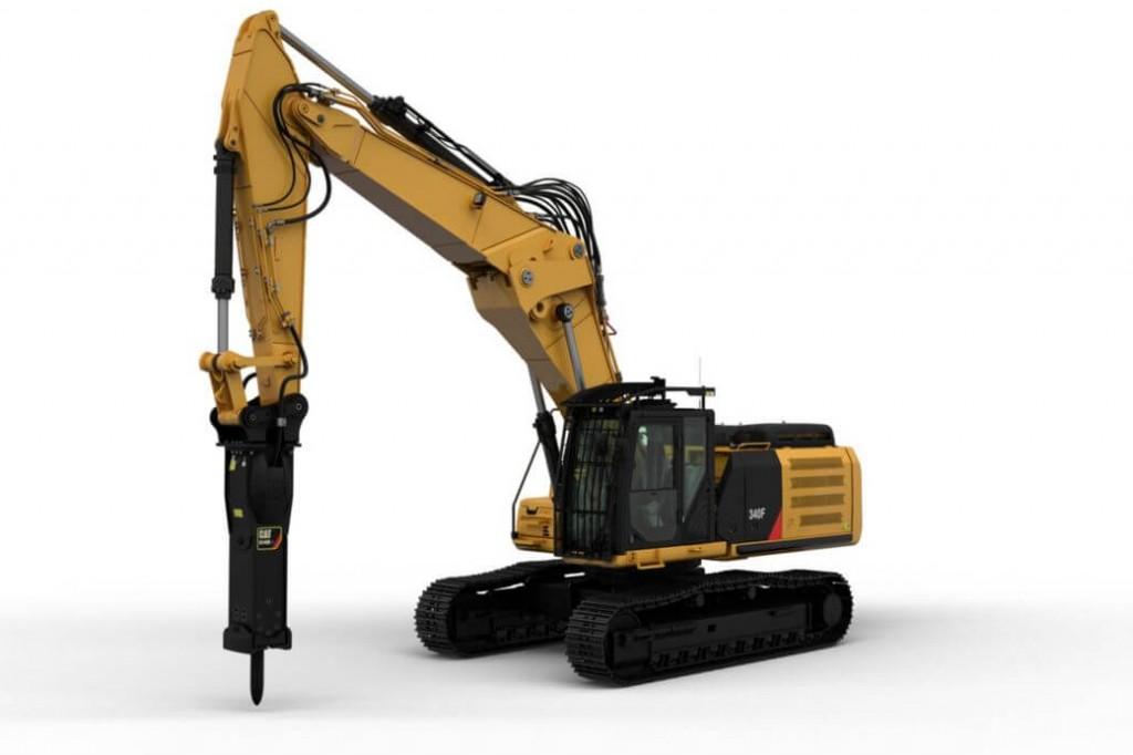 Caterpillar Inc. - 340F UHD Demolition Excavators