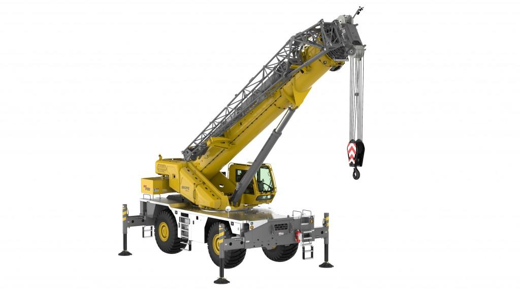 manitowoc rough terrain crane