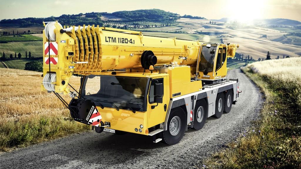 Liebherr to release new 4-axle mobile crane at CONEXPO-CON/AGG
