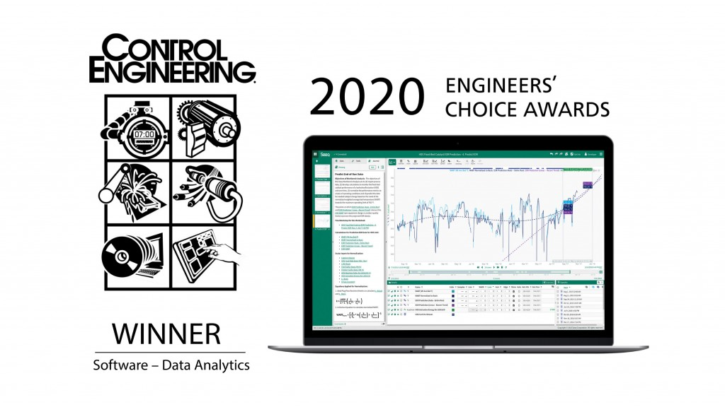 poster for control engineering 2020 engineers choice award