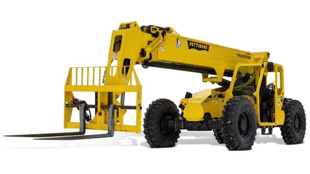 Pettibone introduces third Traverse model to telehandler product lineup