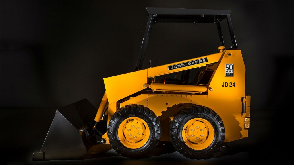 John Deere to display restored skid steer from 1970 at CONEXPO-CON/AGG 2020
