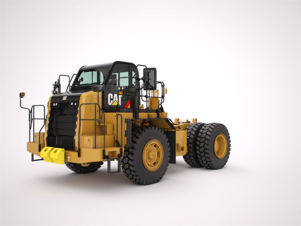 Caterpillar Inc. - 772G WTR Bare Chassis Mining Trucks