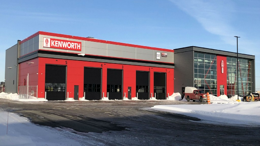 Kenworth opens new parts and service location in Quebec