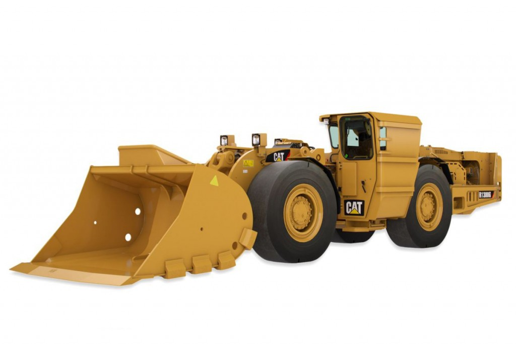 Caterpillar Inc. - R1300G Underground Mining Loaders