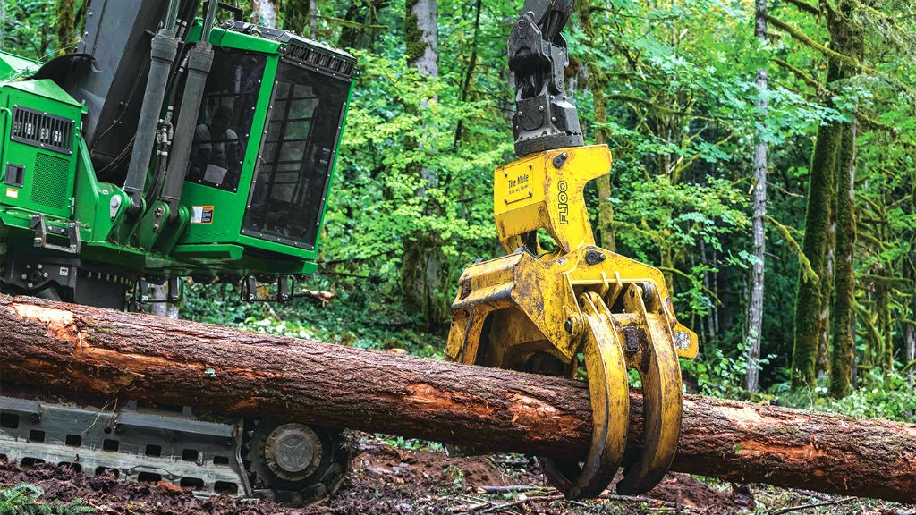 John Deere has released its new large-class directional felling head, the FL100.