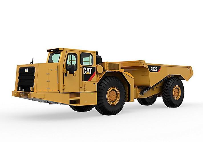 Caterpillar Inc. - AD22 Underground Mining Trucks