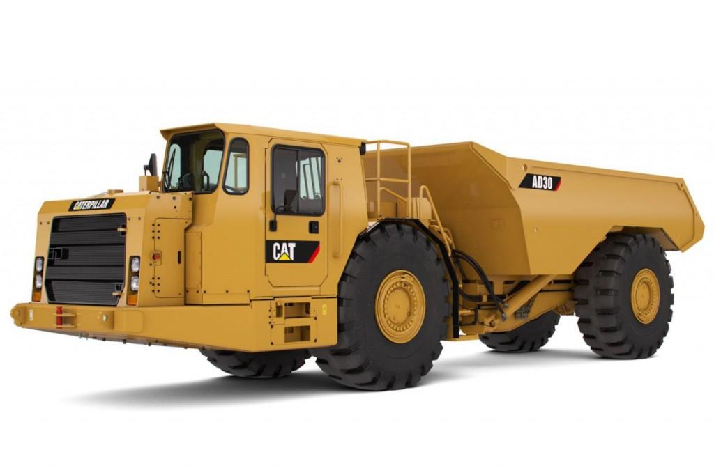 Caterpillar Inc. - AD30 Underground Mining Trucks