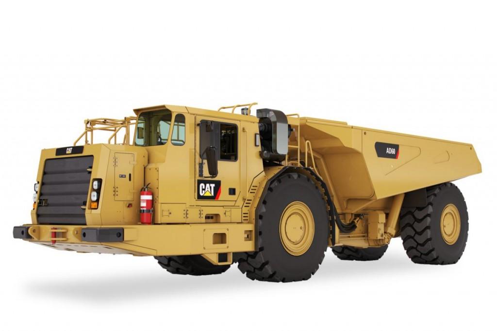 Caterpillar Inc. - AD60 Underground Mining Trucks