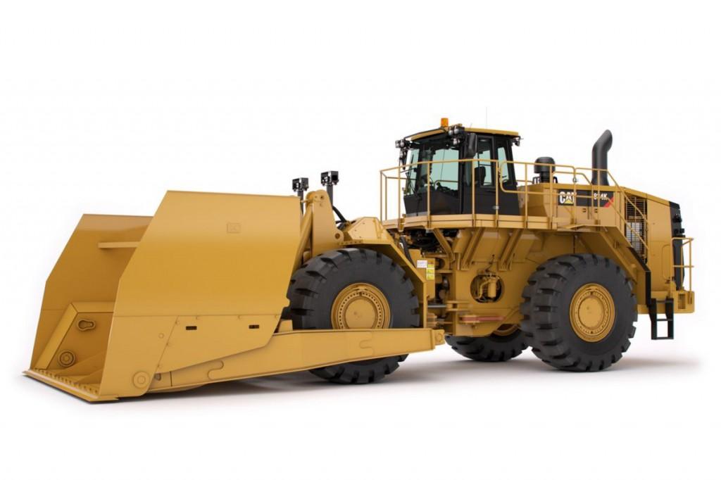 Caterpillar Inc. - 834K Scoops for Coal & Woodchips Wheel Dozers