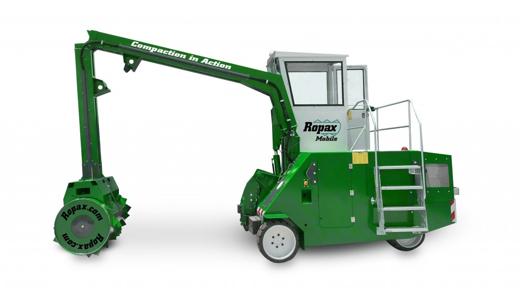 Ropax mobile compactor