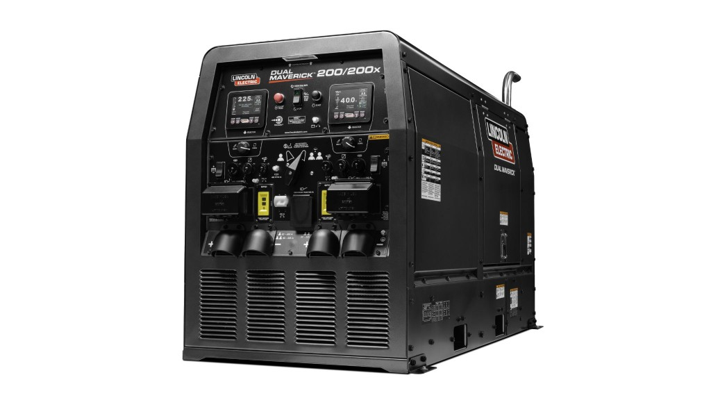 Lincoln Electric to display generator with dual welding outlets at CONEXPO-CON/AGG