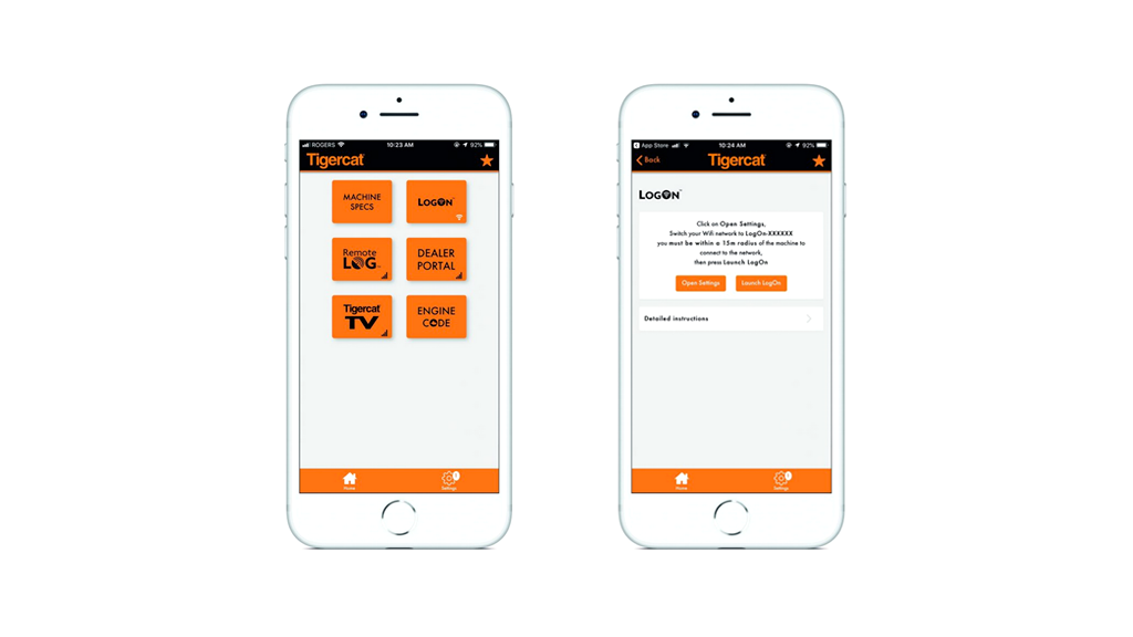 Tigercat releases app to help combat machine downtime