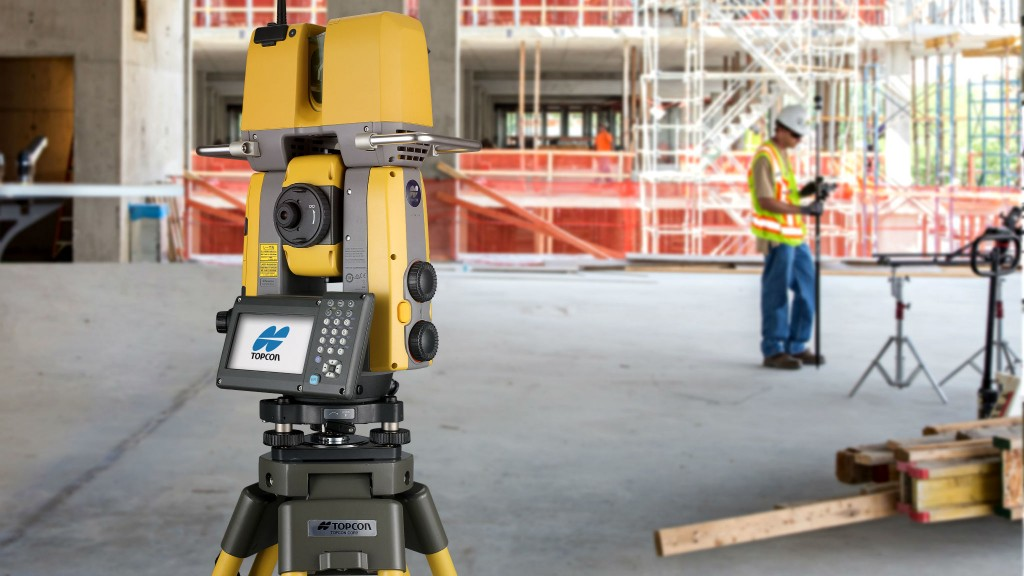 Total station takes two-for-one approach