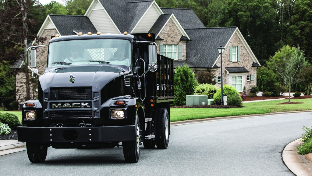 Medium-duty resurgence: Mack launches new line of Class 6 and 7 vocational trucks