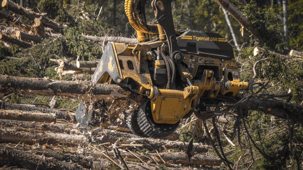 Tigercat harvesting head