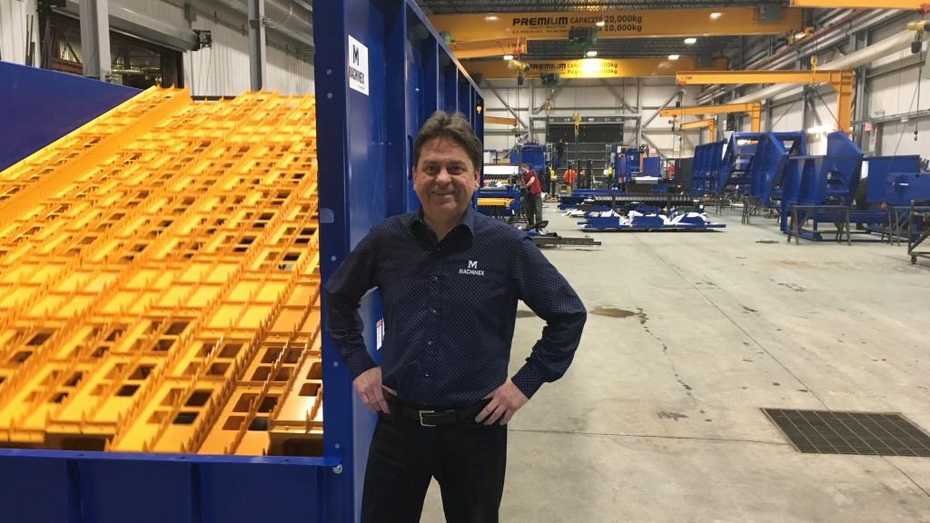 Pierre Paré , CEO of Machinex