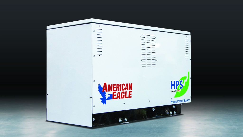 American Eagle to show hybrid power source at CONEXPO-CON/AGG 2020