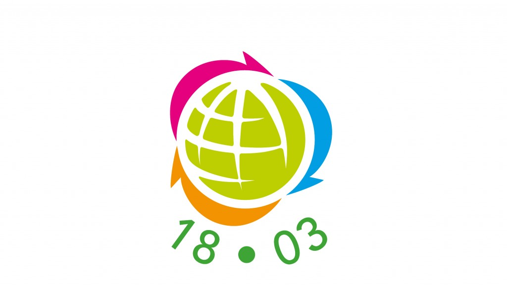 global recycling day logo