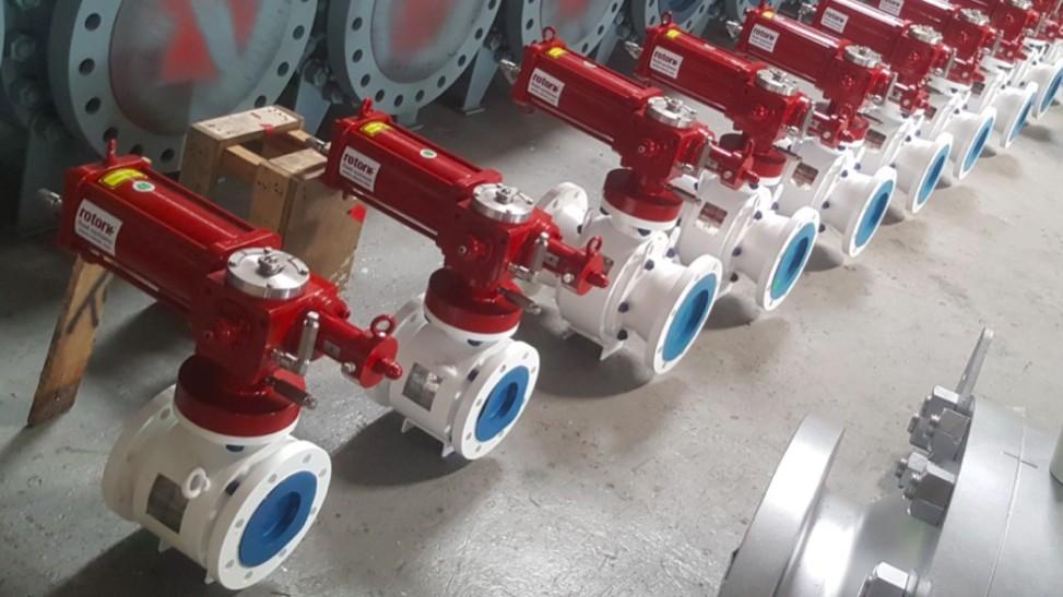 Rotork hydraulic actuator