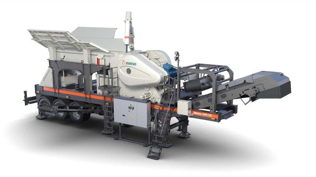 Metso NW120 crushing plant