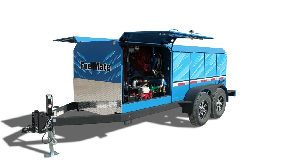 American Eagle multi-tank fuel trailer eliminates need for hazmat certification