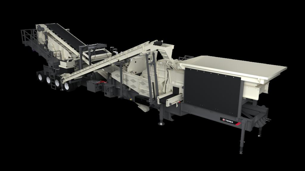 CRH1113r impactor screen plant