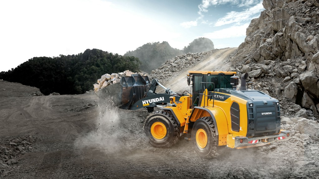 Hyundai to offer Trimble onboard scales as option for wheel loaders
