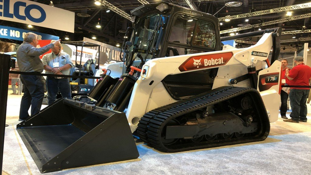 Bobcat electric compact track loader