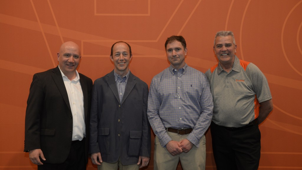 Cape Cod Aggregates owners and Metso distribution team