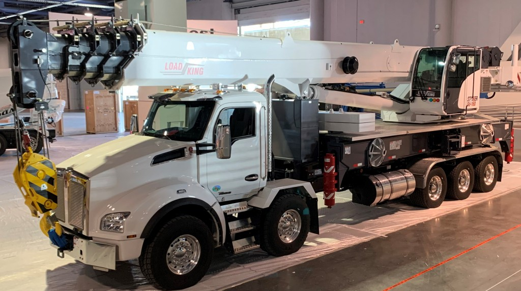 Kenworth Twin Steer on display at conexpo-con/agg