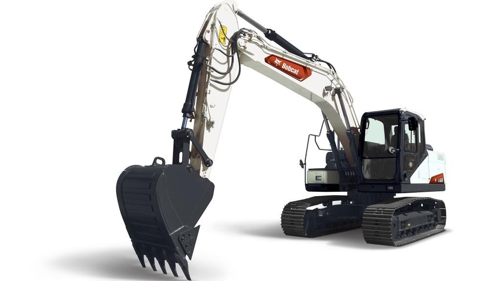 Bobcat E165 excavator