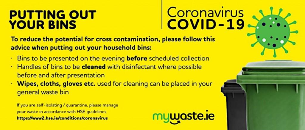 Ireland composting association Covid-19 info graphic