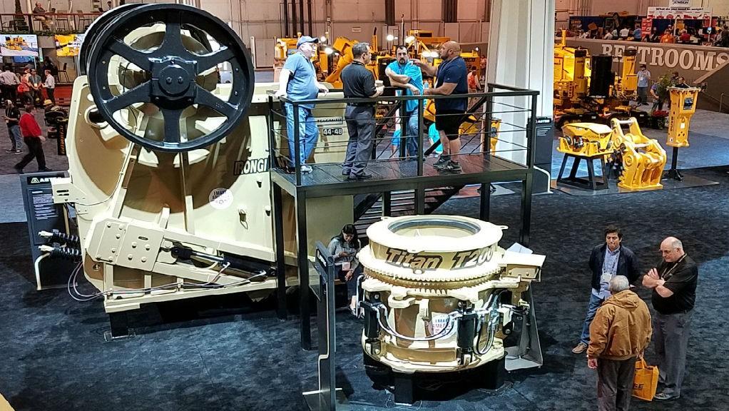Telsmith launches Titan cone crusher at CONEXPO-CON/AGG 2020