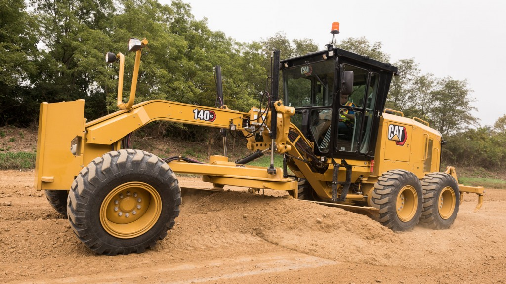 caterpillar140 gc motor grader