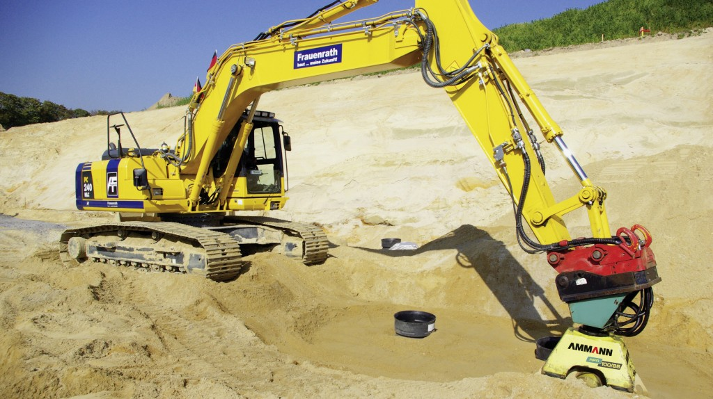 Ammann showed range of light compaction equipment at CONEXPO-CON/AGG