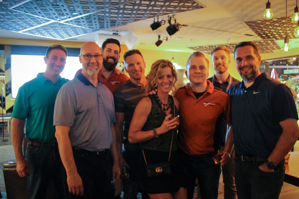 CDRA members at the 2020 fundraiser