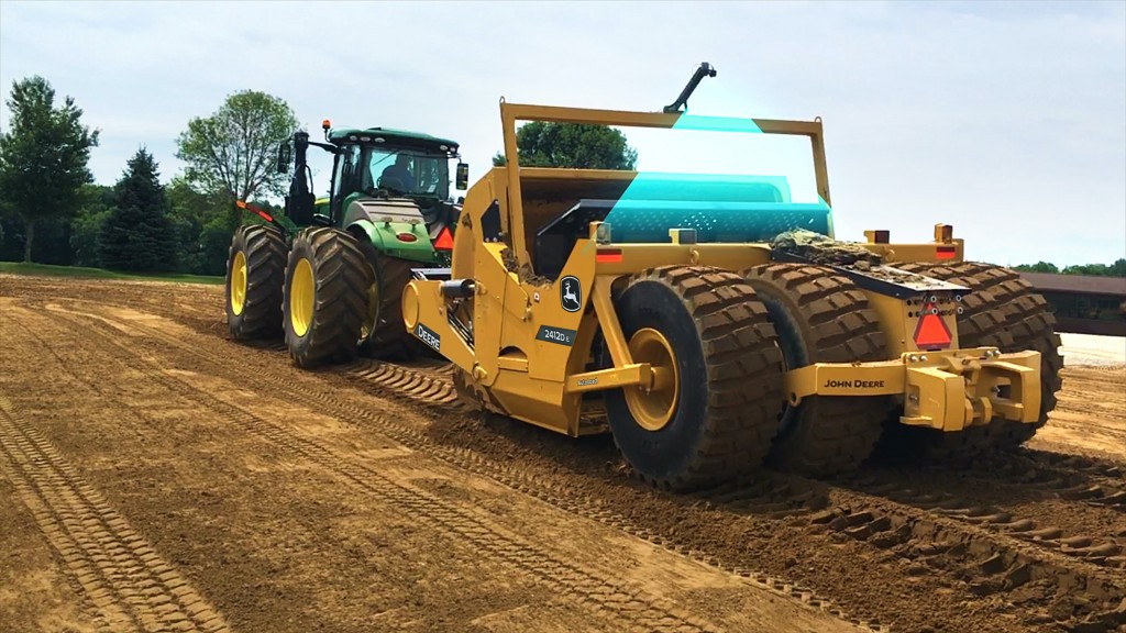 The new scraper earthmoving productivity system.