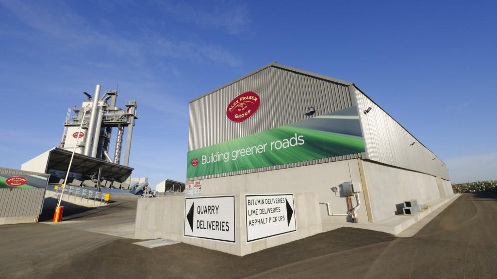 Ammann ABP High Recycling Technology (HRT) Asphalt-Mixing Plant