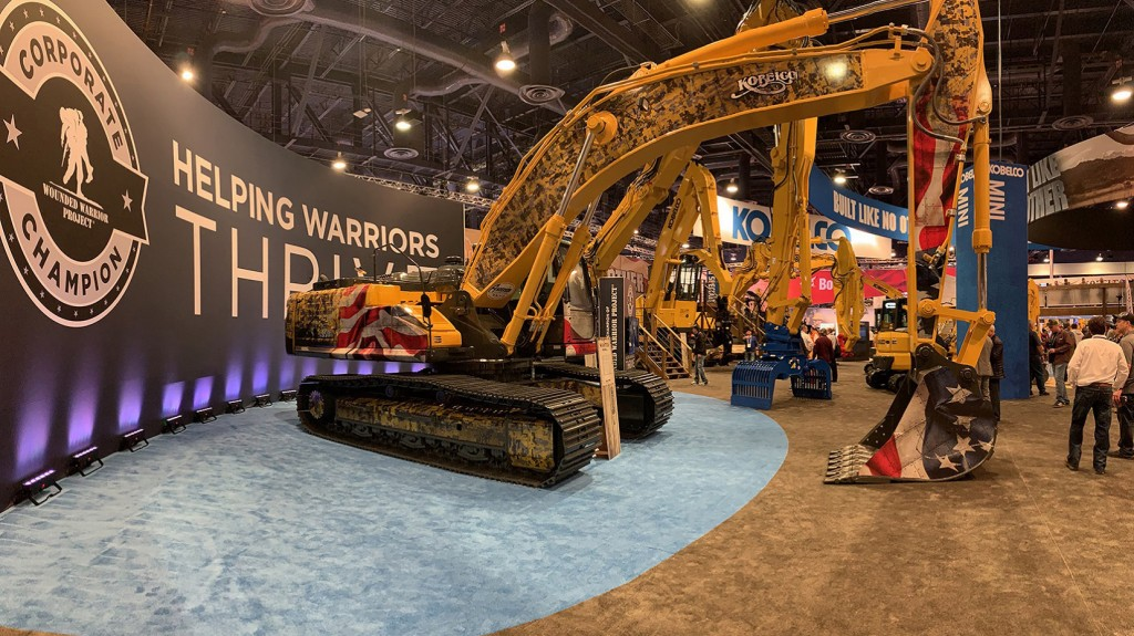 KOBELCO SK350LC-10 Wounded Warrior Project