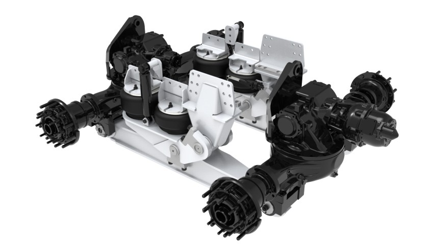 Link's 85K Air Link Tandem Drive Chassis Suspension