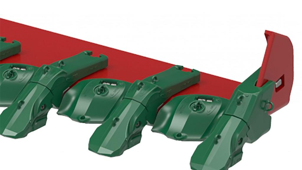 Esco Nemisys Lip System for wheel loaders