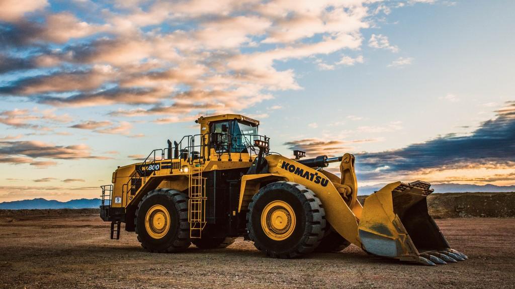 The WA800-8 wheel loader
