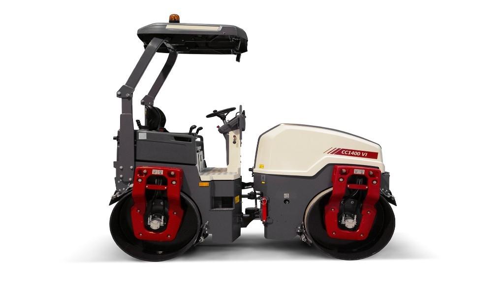The CC1400 VI roller