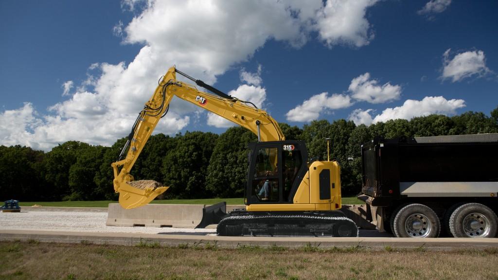 The Cat 315 Next Gen excavator
