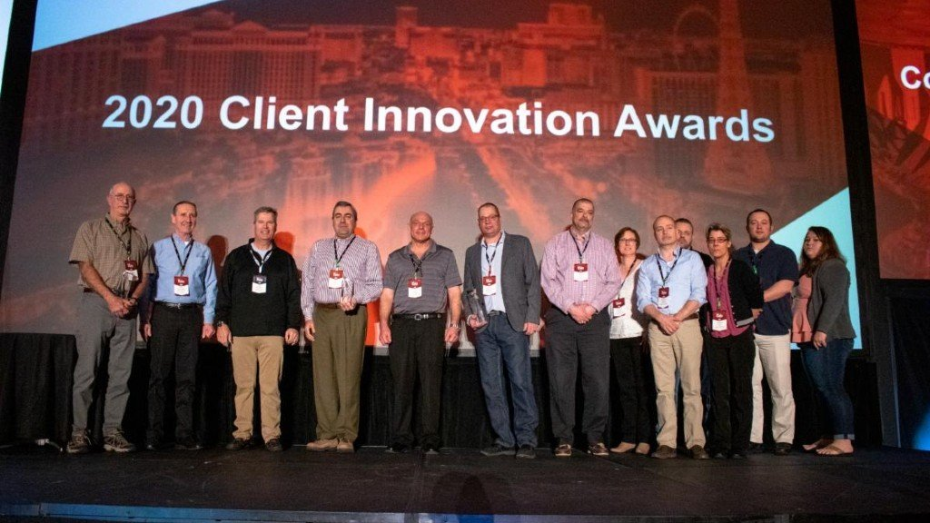B2W Software presented its 2020 Client Innovation Awards for ROI and operational improvements to Lancaster Development, Lakeside Industries, EPCOR and Severino Trucking at the company's annual User Conference in early March.