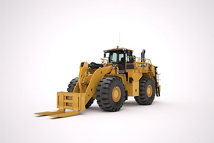 Caterpillar Inc. - 988K Block Handler Arrangement Wheel Loaders