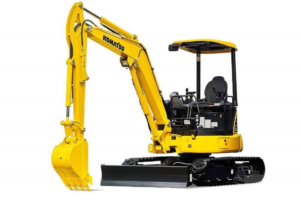 Komatsu America Corp. - PC30MR-5 Compact Excavators